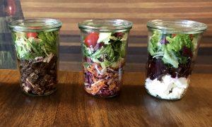 Neue Salate, neue Verpackung, großer Genuss